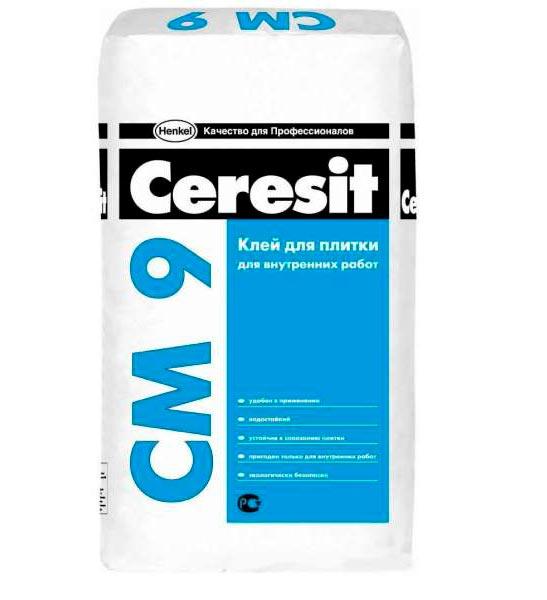Клей Ceresit CM 9