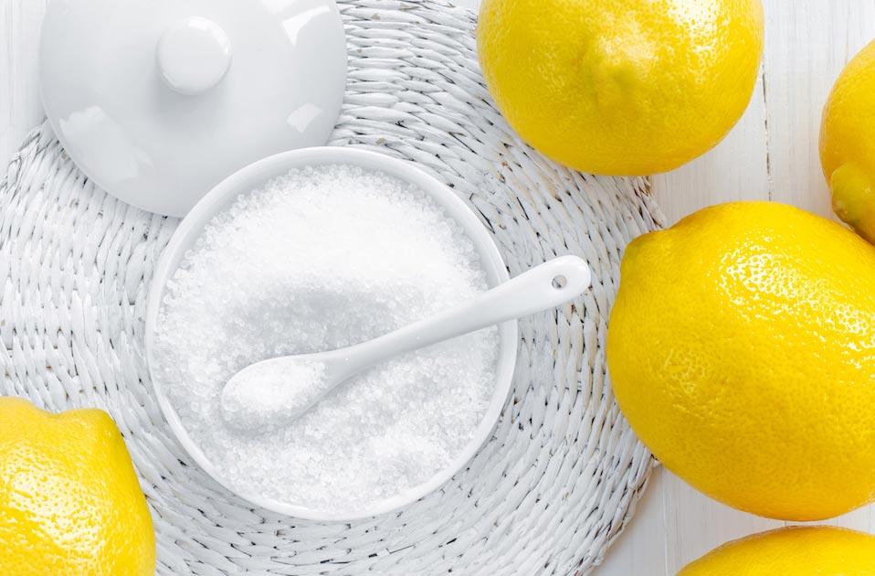 лимонная кислота от налета