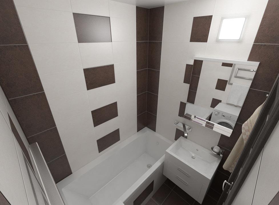 маленькая ванная комната без туалета