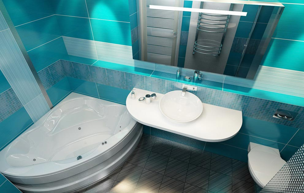 маленькая ванная комната с туалетом