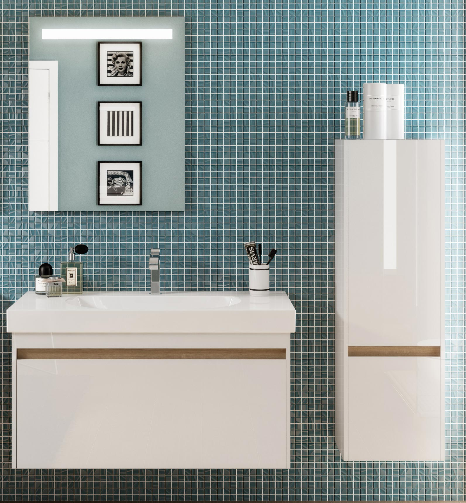 мебель для ванной керама марацци