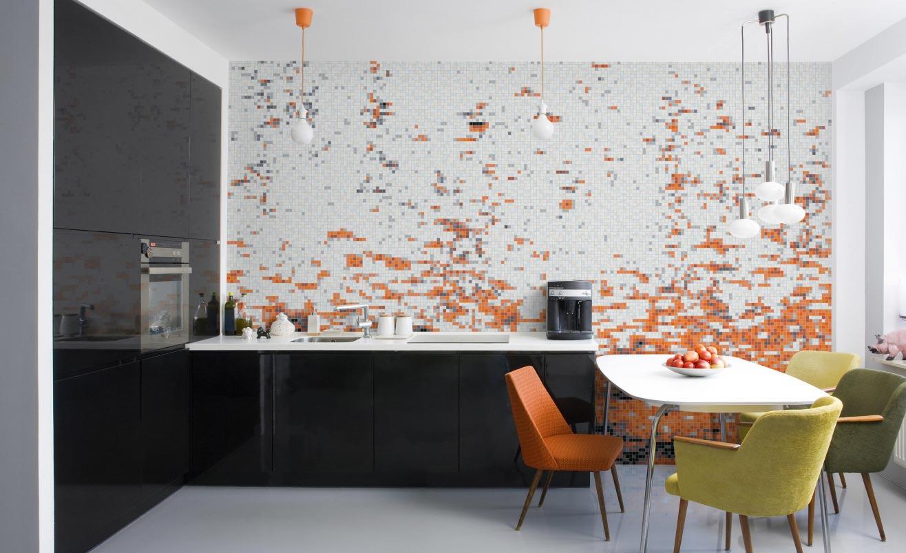 мозаика на кухне интересные варианты