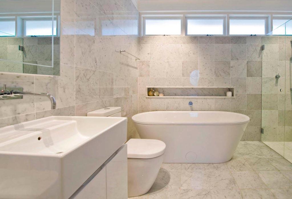 Оселковый мрамор для ванной