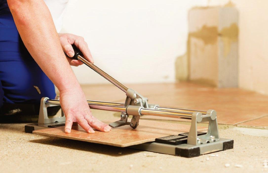 плитка для пола-как резать