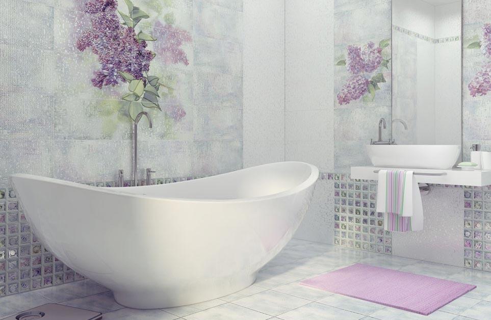 Классификация и выбор плитки для ванной комнаты