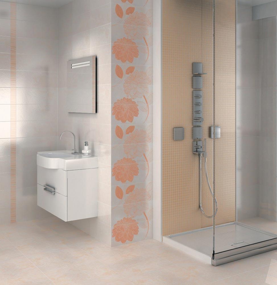 плитка Керама Марацци для ванной-интерьер