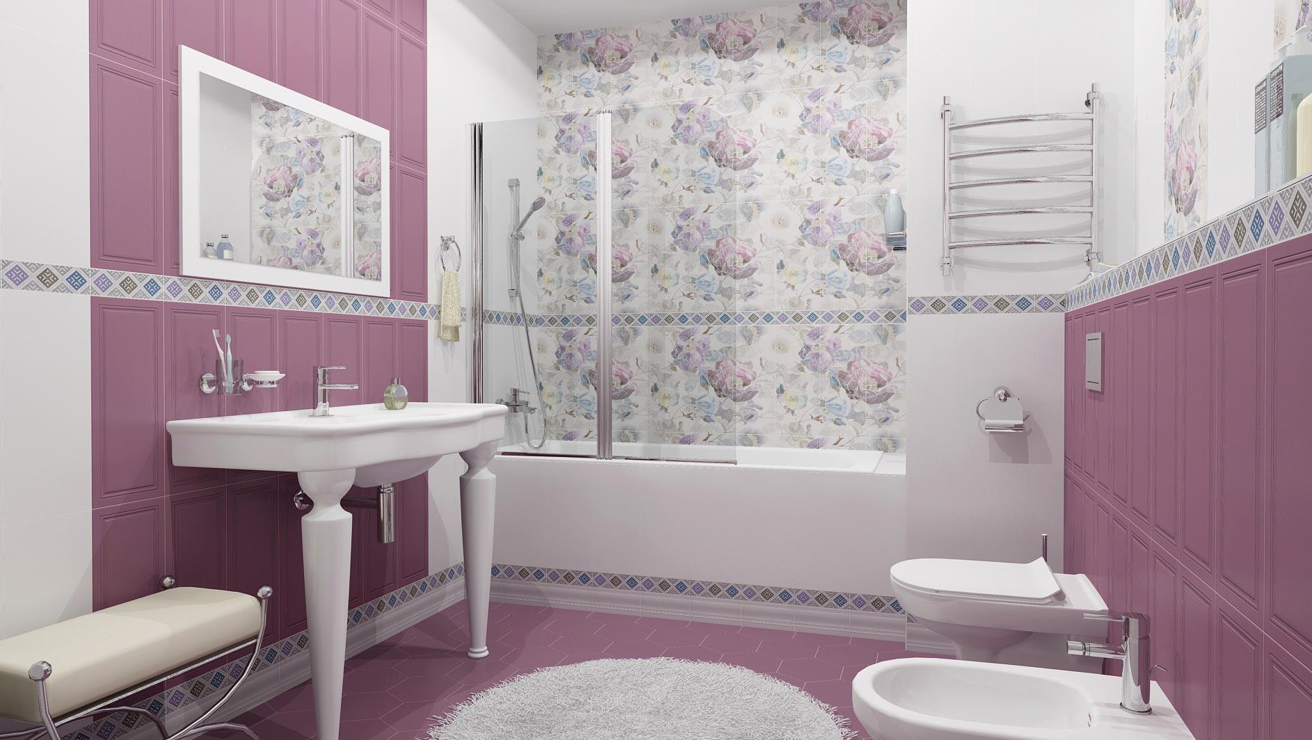 плитка линьяно керама марацци в ванной
