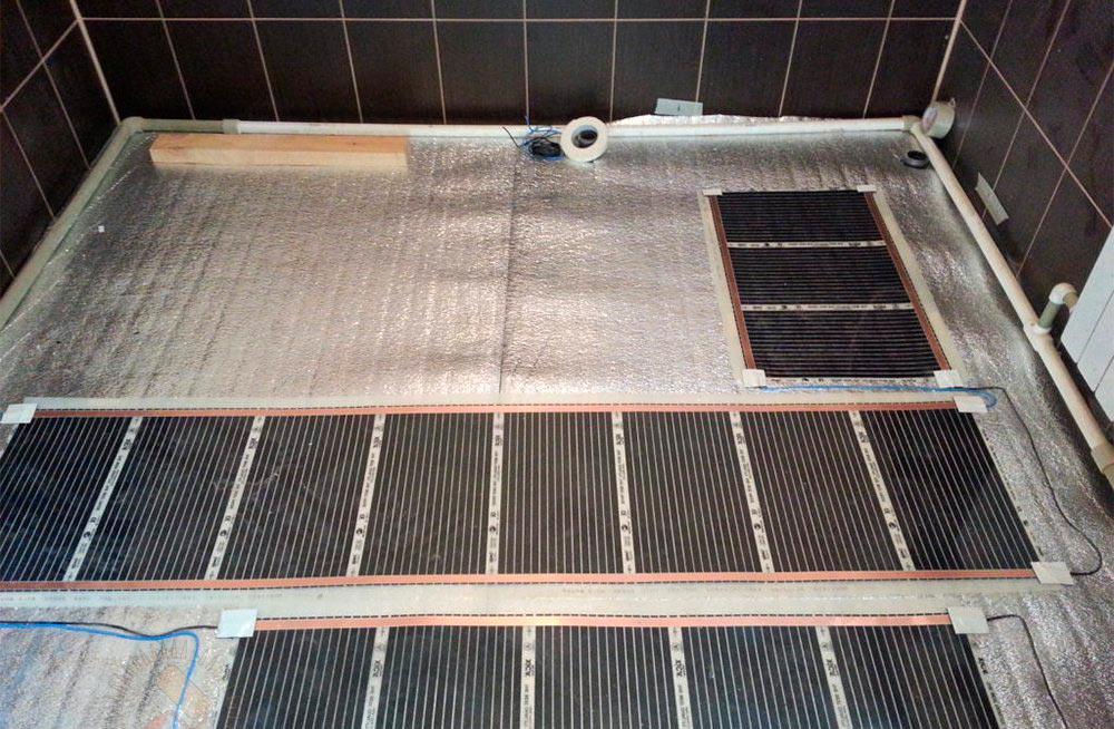 Подготовка перед монтажом электрического теплого пола под плитку