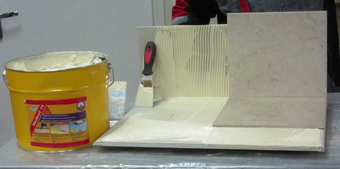 полимерный плиточный клей