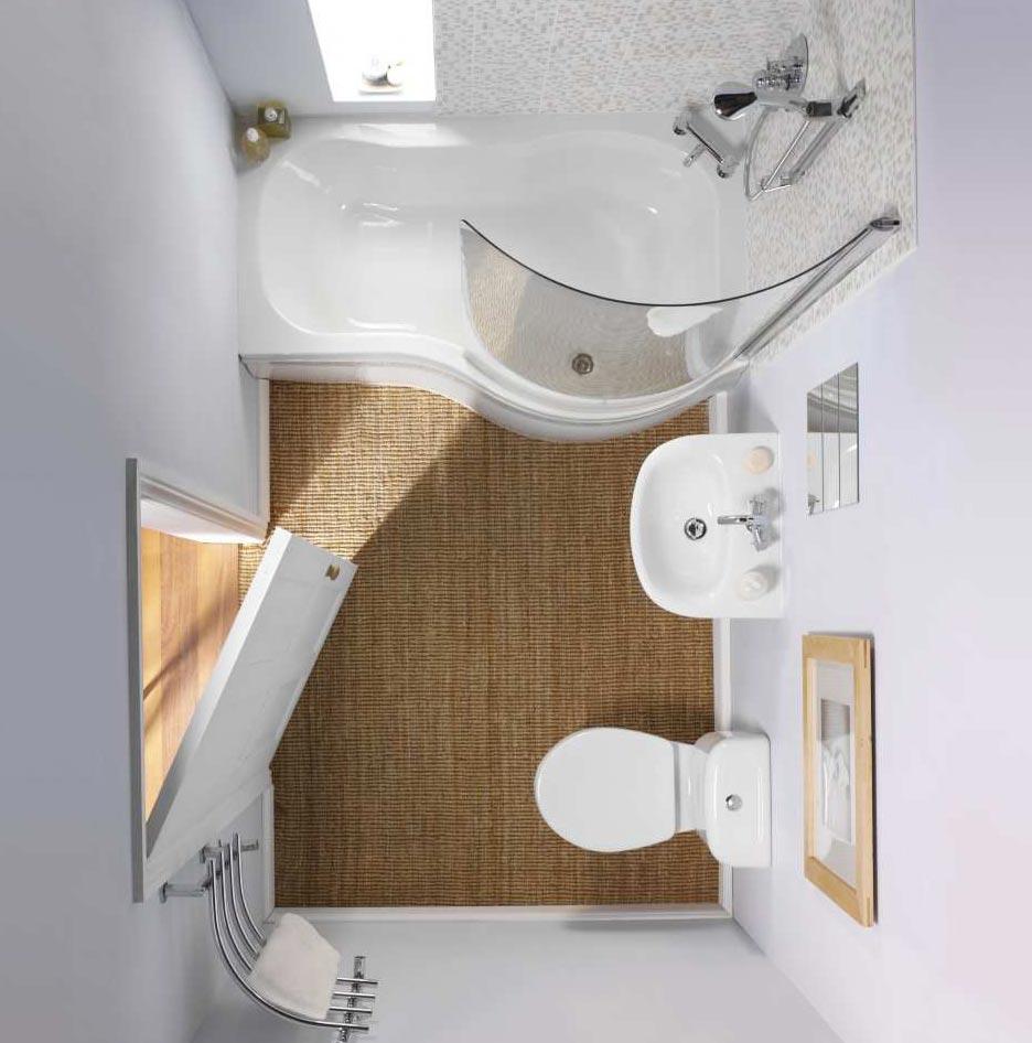 пример маленькой ванной