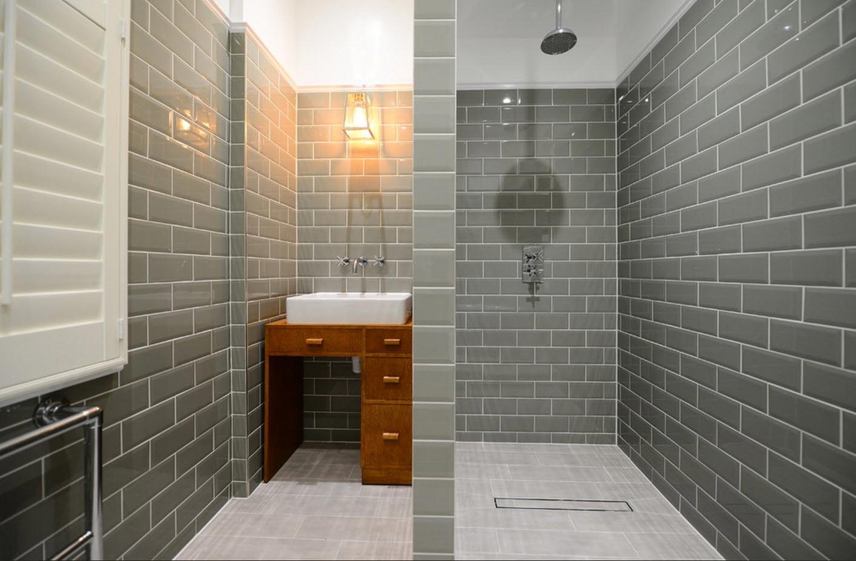 прямоугольная плитка для ванной-дизайн