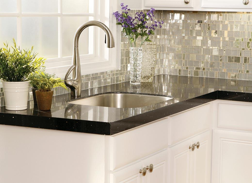 стеклянная мозаика для кухни