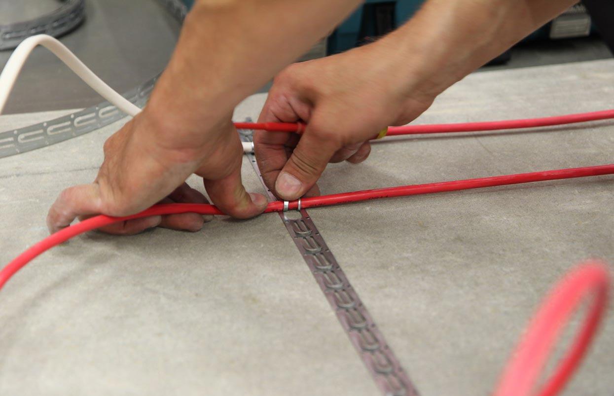 укладка электрического пола под плитку-советы