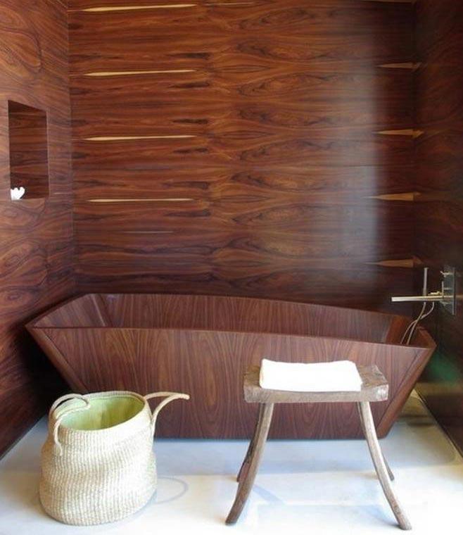 ванная под дерево 1
