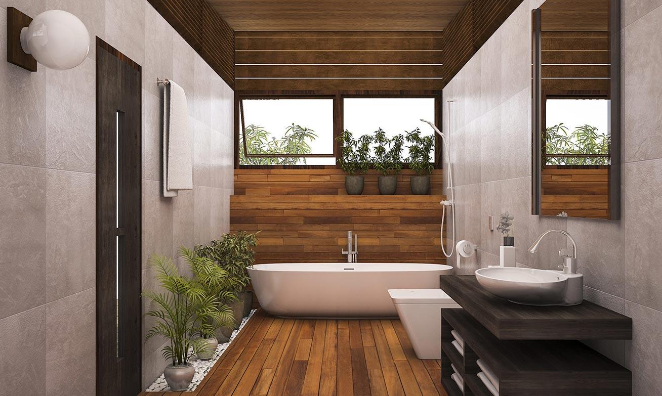 ванная под дерево 11