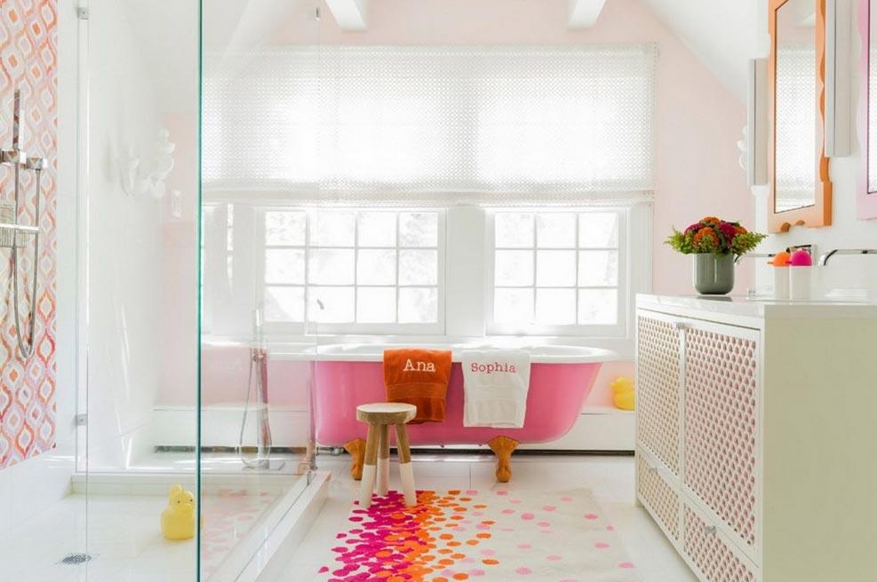 ванная в современном стиле дизайн, интерьер
