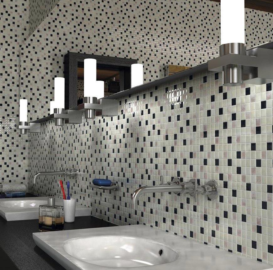 выбор плитки мозаики для ванной