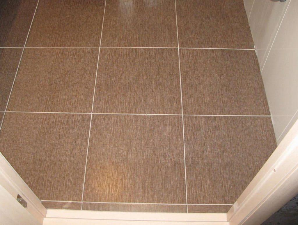Использование покрытия после затирки плитки