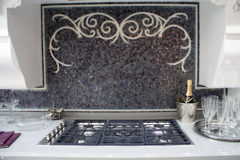 Мозаичные панно для кухни матовые