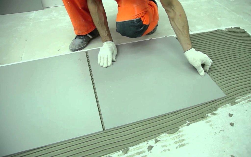 Область применения плиточного клея