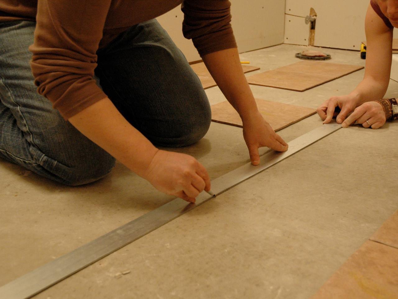 Площадка под укладку матов или кабеля должна быть ровной и чистой