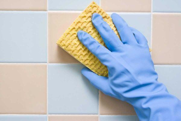 чистка кафеля на кухне-необходимые средства