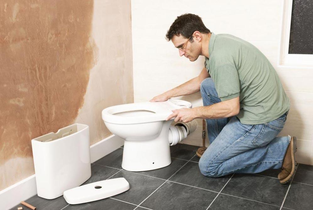 демонтаж сантехнических приборов