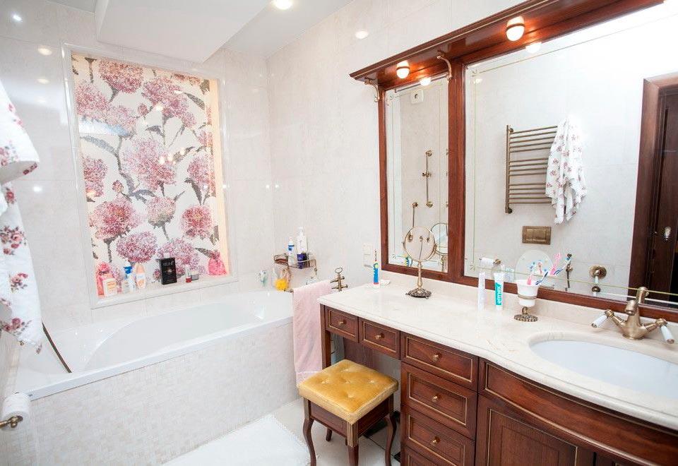 Другие варианты дизайна панно в ванной 4