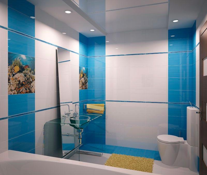 Другие варианты дизайна панно в ванной 41
