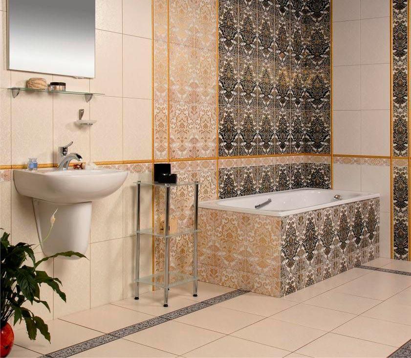 Другие варианты дизайна панно в ванной 50