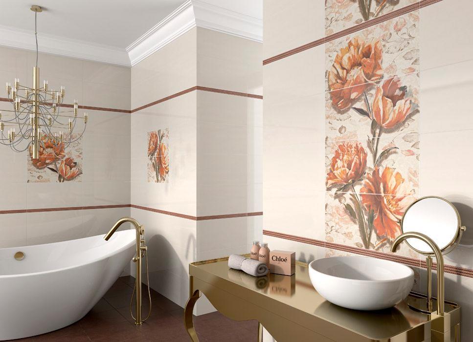 Другие варианты дизайна панно в ванной 56