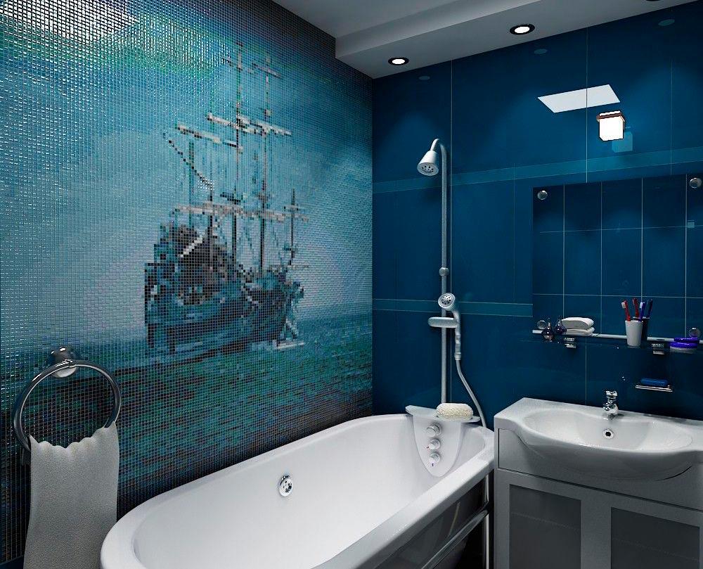 Другие варианты дизайна панно в ванной 9
