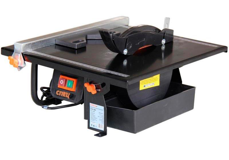 Электрический плиткорез с водяным охлаждением Spec СПЭ 600