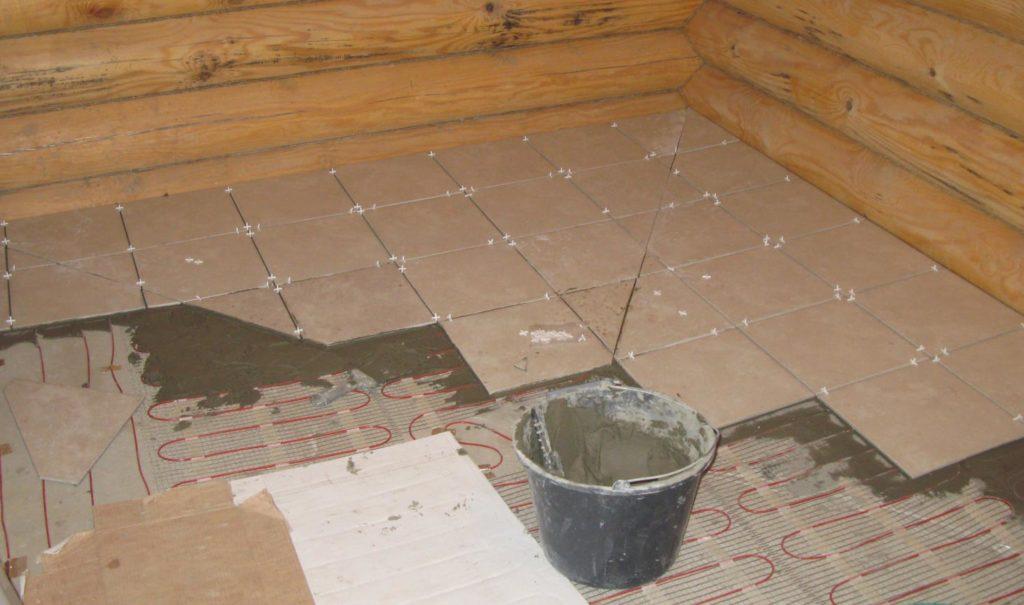 электрический пол в бане-принцип работы