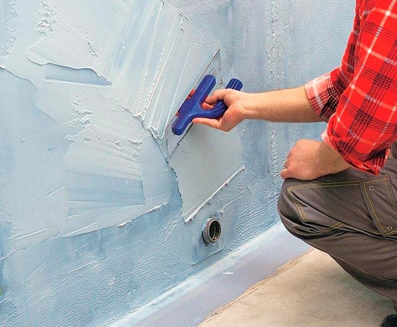 Гидроизоляция стен в ванной 2