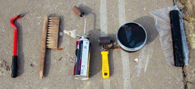 гидроизоляция ванной комнаты-необходимые инструменты