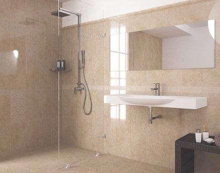 глянцевая плитка для ванной 1