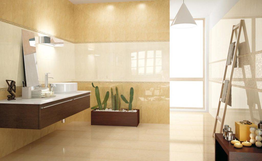 глянцевая плитка для ванной