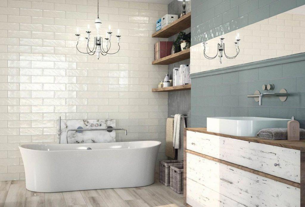 глянцевая плитка для ванной-преимущества