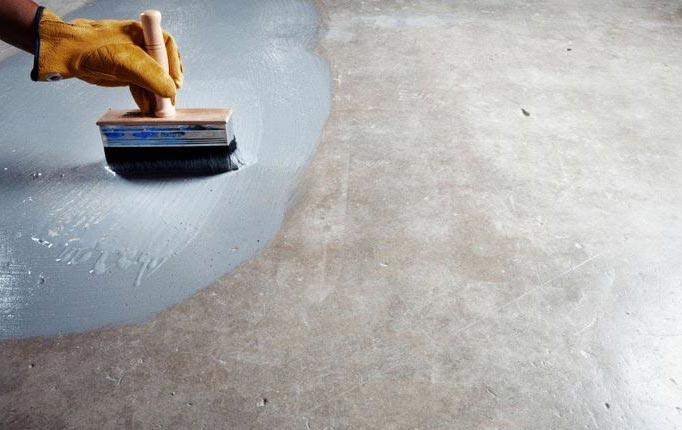 грунтовка поверхности перед укладкой плитки