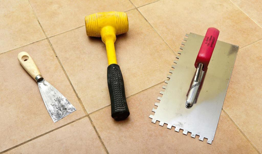 инструменты для укладки напольной плитки