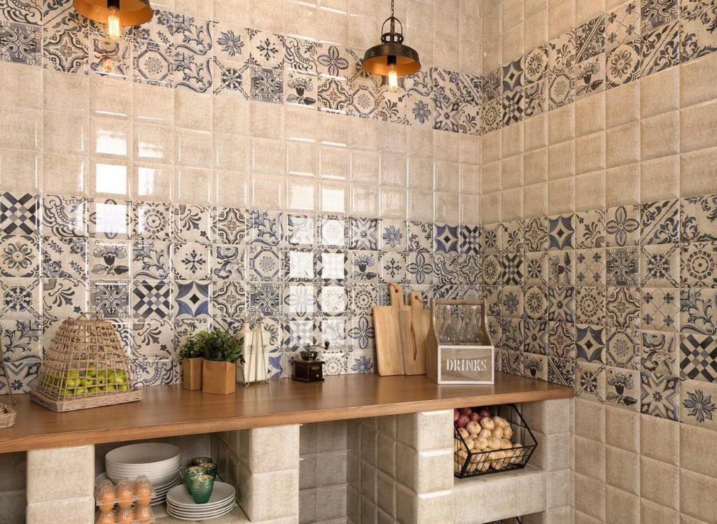 Испанская плитка для кухни на фартук 2