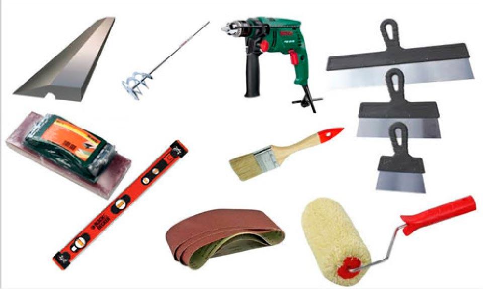 Используемые материалы для выравнивание стены