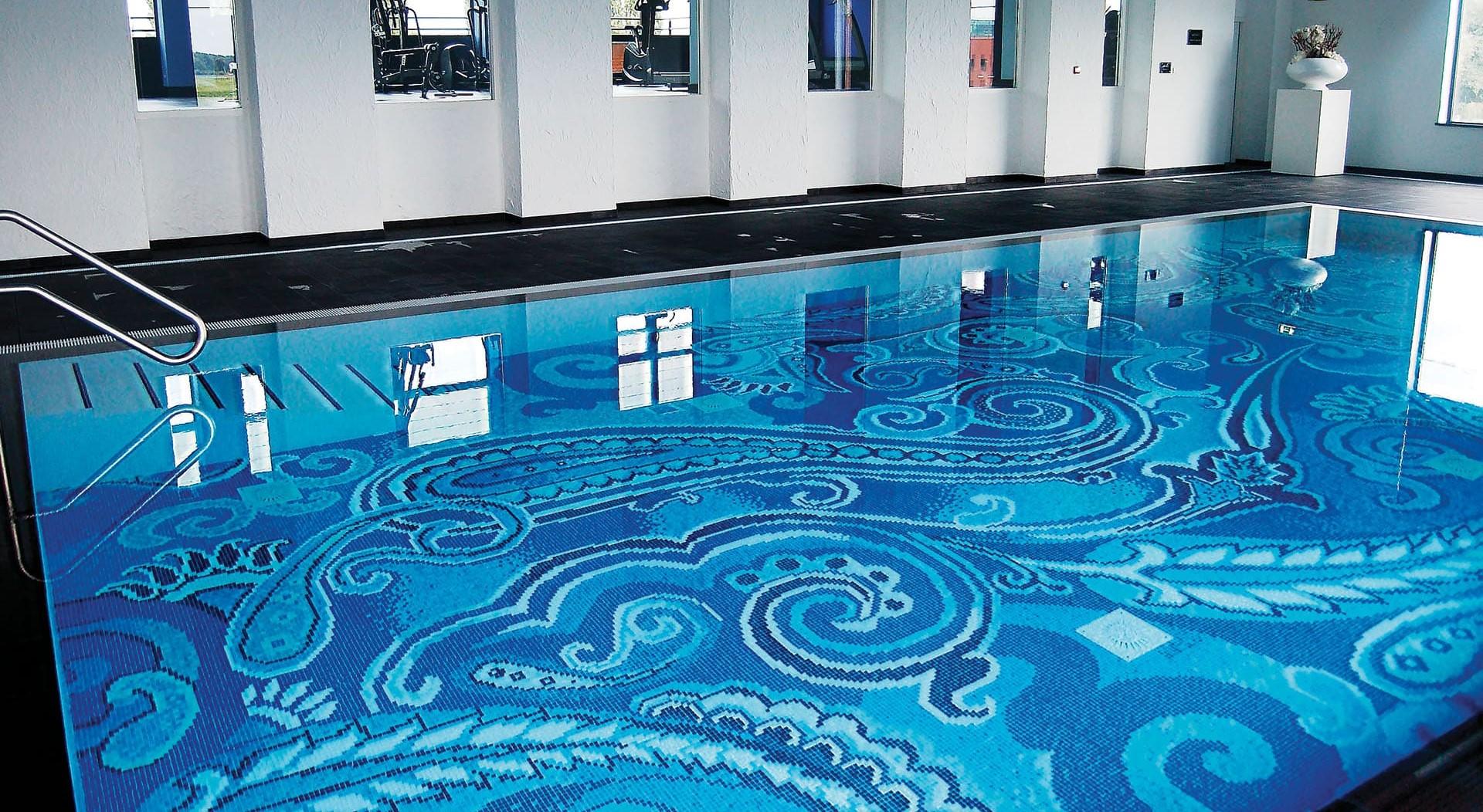 итальянская плитка бассейн
