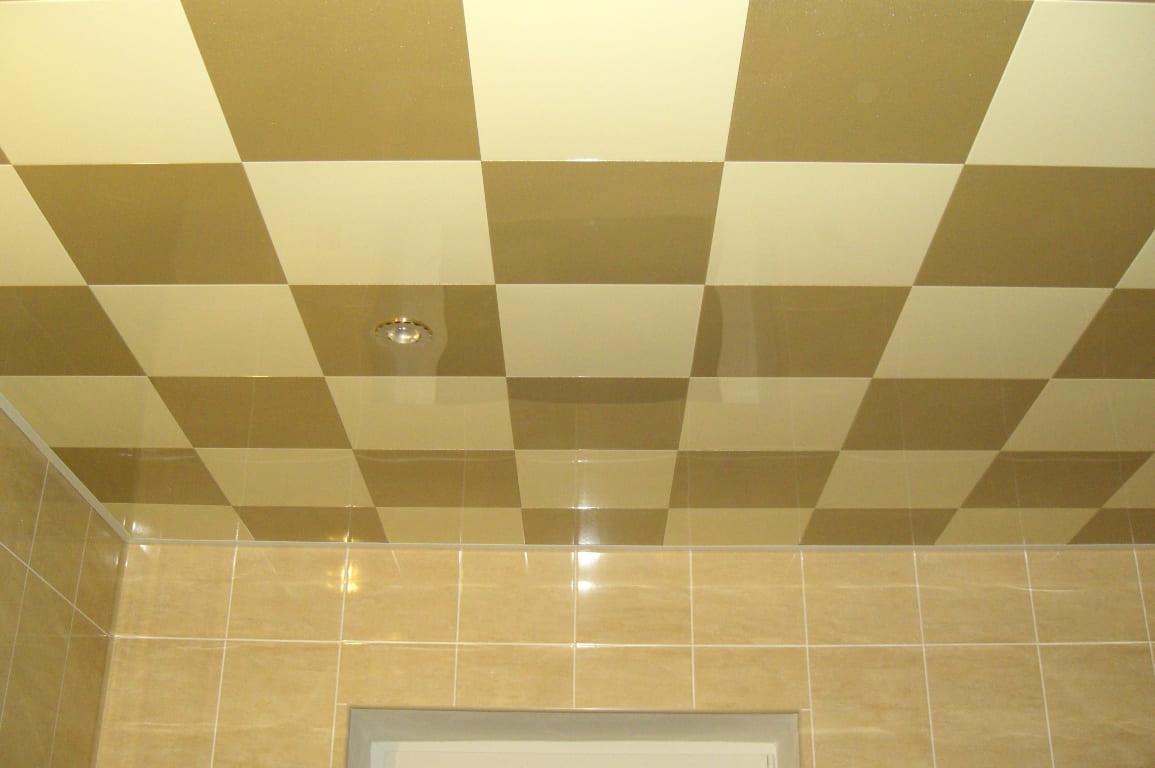 кафель на потолок