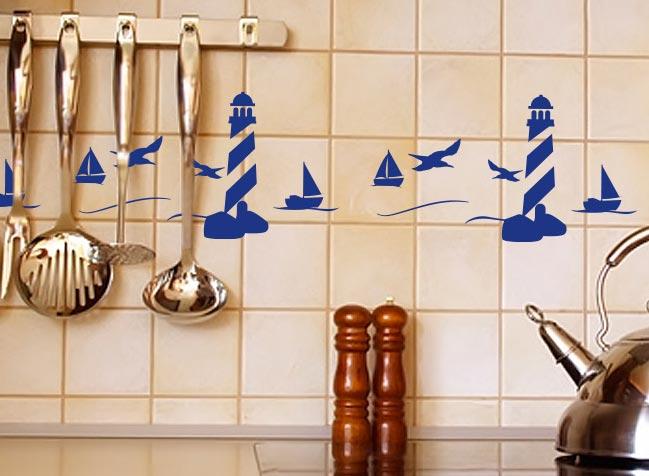как обновить плитку на кухне-необычные примеры