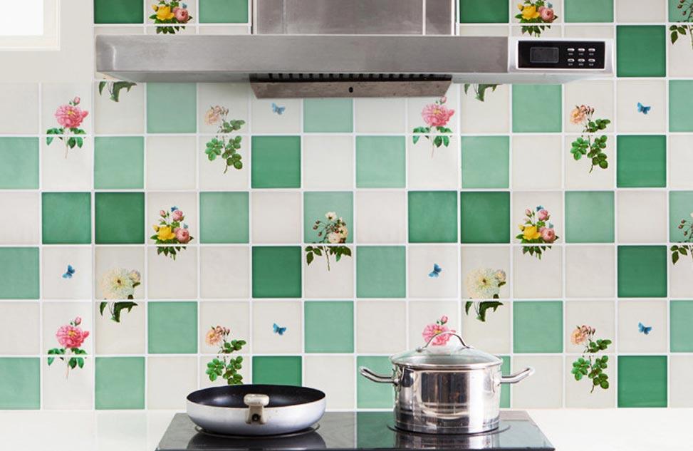 как обновить плитку на кухне
