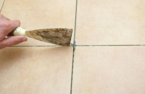 как очистить швы между плиткой на полу-советы