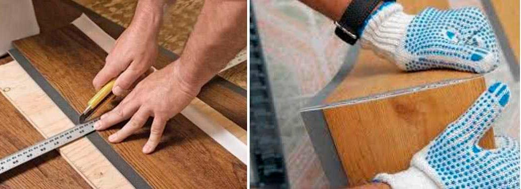Как резать ПВХ плитку