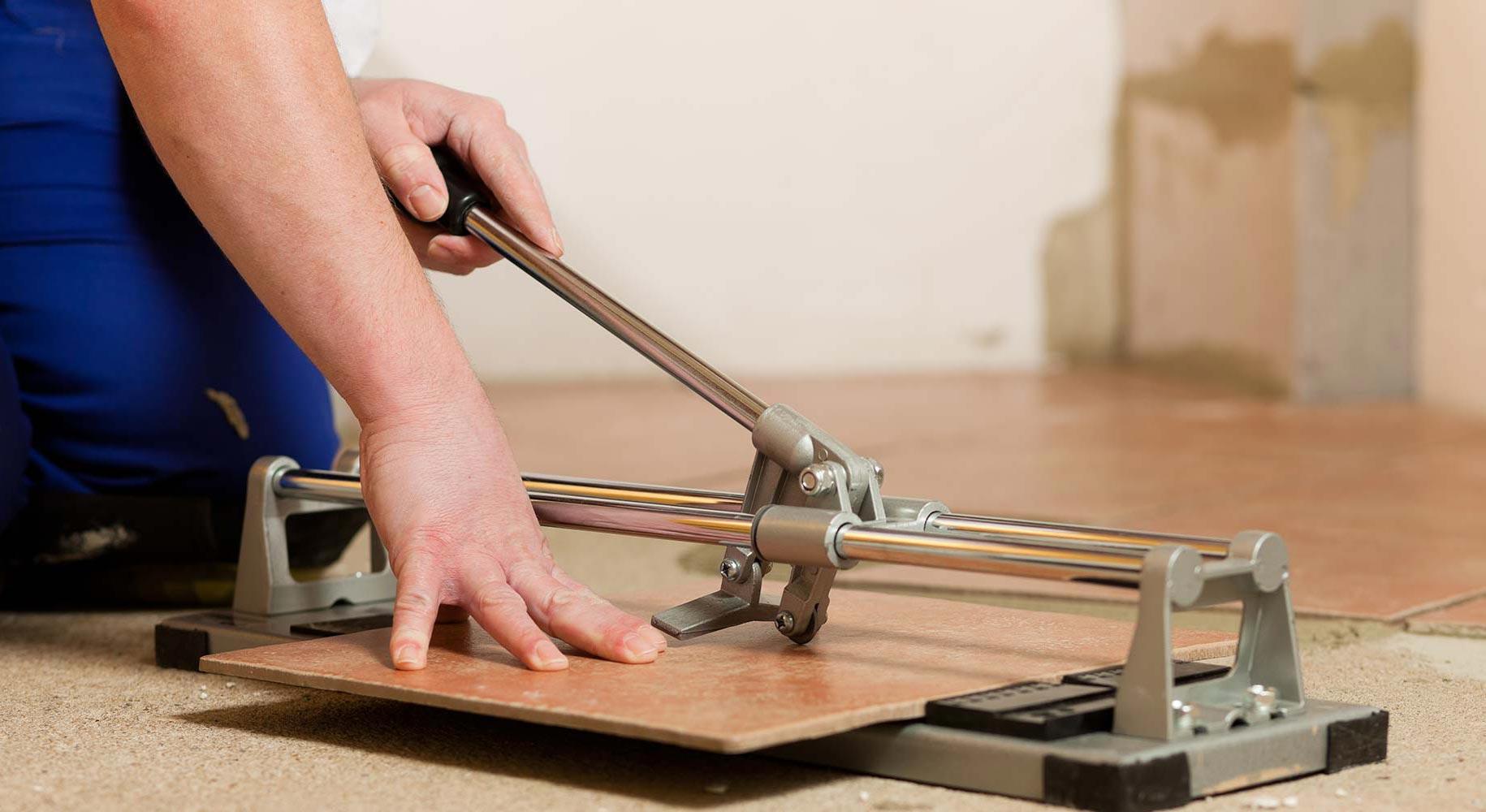 как уложить плитку на кухне-инструменты